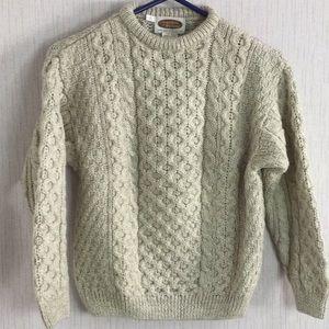 NWOT Vintage Wool Sweater of Ireland Sweater